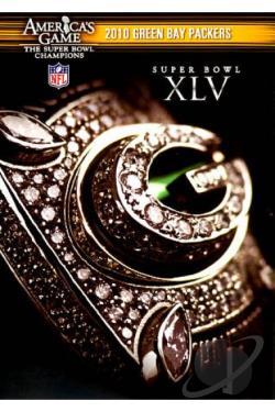 NFL: America's Game - 2010 Green Bay Packers - Super Bowl XLV DVD Cover Art