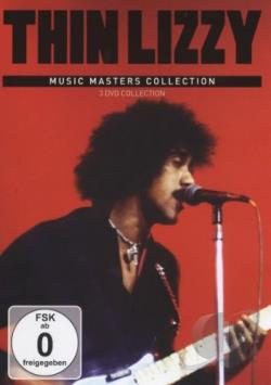 Thin Lizzy: Music Masters Collection DVD Cover Art