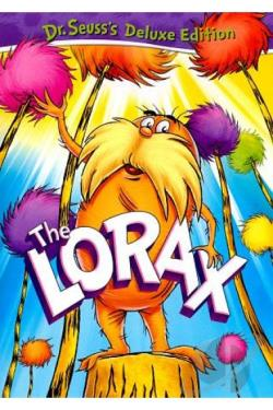 Dr. Seuss - The Lorax DVD Cover Art