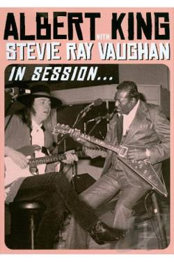 Albert King with Stevie Ray Vaughan: In Session DVD Cover Art