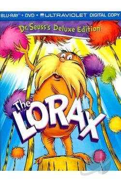 Dr. Seuss - The Lorax BRAY Cover Art
