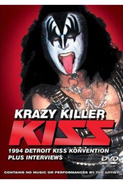 Kiss - Krazy Killer DVD Cover Art