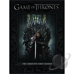 Game of Thrones - The Complete First Season DVD Cover Art