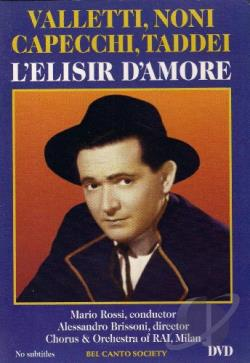 L'Elisir D'Amore DVD Cover Art