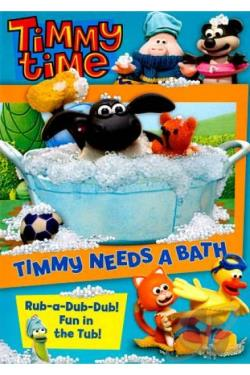 Timmy Time: Timmy Needs a Bath DVD Cover Art