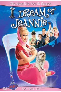 I Dream of Jeannie - The Complete Fourth Season DVD Cover Art
