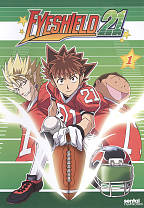 Eyeshield 21: Collection 1 DVD Cover Art