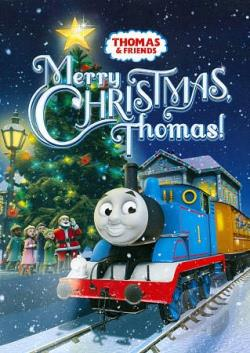 Thomas & Friends: Merry Christmas, Thomas! DVD Cover Art