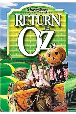 Return to Oz DVD Cover Art
