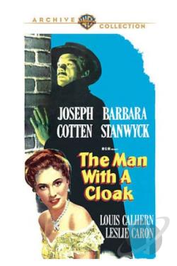Man with a Cloak DVD Cover Art