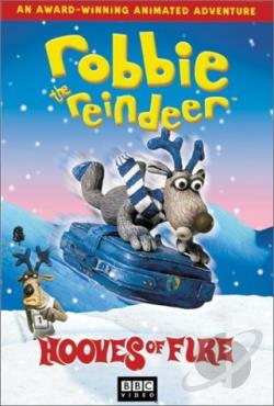 Robbie the Reindeer DVD Cover Art