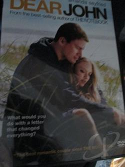 Dear John DVD Cover Art