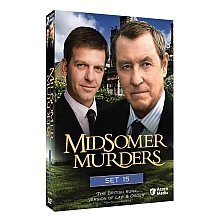 Midsomer Murders: Set 15 DVD Cover Art