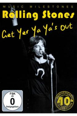 Rolling Stones - Get Yer Ya-Ya's Out DVD Cover Art