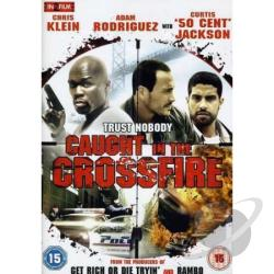Caught In The Crossfire DVD Cover Art