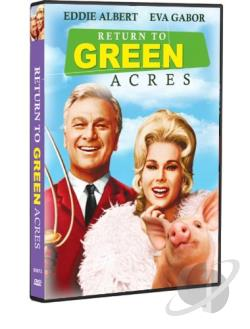 Return to Green Acres DVD Cover Art