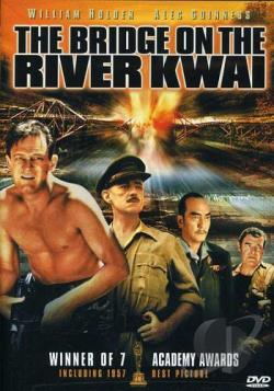 Bridge on the River Kwai DVD Cover Art
