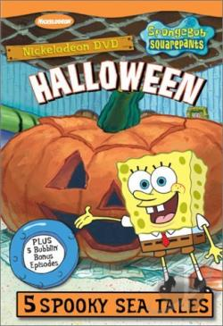 Spongebob Squarepants - Halloween DVD Cover Art