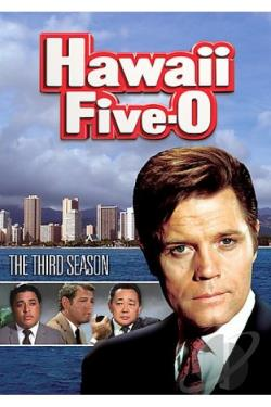 Hawaii Five-O - The Complete Third Season DVD Cover Art