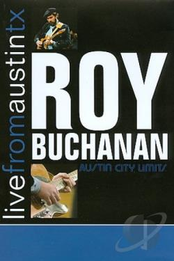 Roy Buchanan - Live From Austin Tx DVD Cover Art