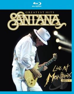Santana: Greatest Hits - Live at Montreux 2011 BRAY Cover Art