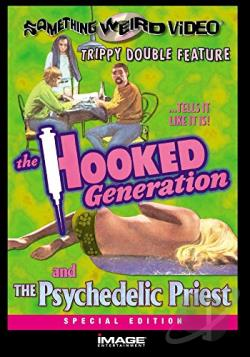 Hooked Generation/The Psychedelic Priest - Double Feature DVD Cover Art