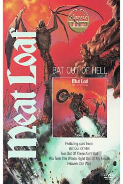Classic Albums - Meat Loaf: Bat Out of Hell DVD Cover Art