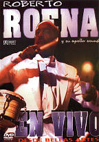 Roberto Roena - En Vivo En Bellas Artes DVD Cover Art