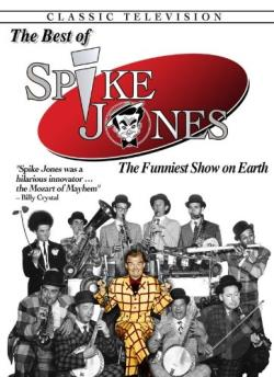 Best of Spike Jones DVD Cover Art