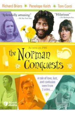 Norman Conquests DVD Cover Art
