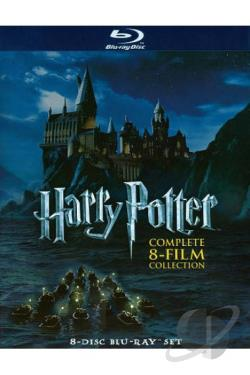 Harry Potter - The Complete 8-Film Collection BRAY Cover Art