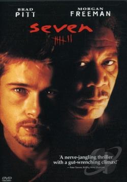Seven DVD Cover Art
