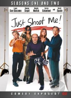 Just Shoot Me - The Complete First & Second Seasons DVD Cover Art