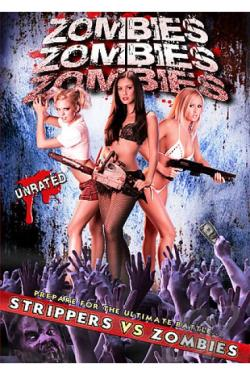 Zombies! Zombies! Zombies! DVD Cover Art