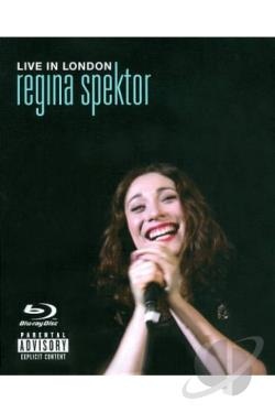 Regina Spektor: Live in London BRAY Cover Art