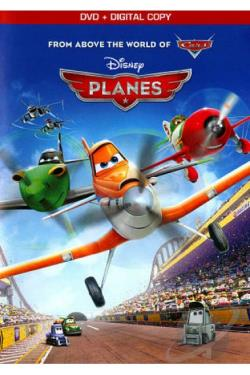 Disney's Planes DVD Cover Art