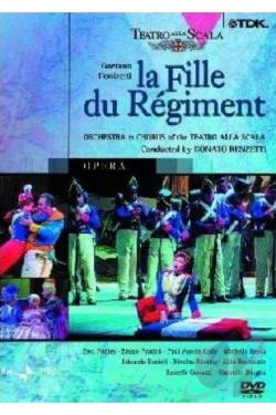 Fille du Regiment (Teatro Carlo Felice) DVD Cover Art