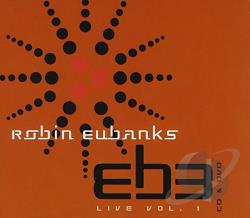 Eubanks, Robin And Eb3 - Live:Vol. 1: Jewel Case DVD Cover Art
