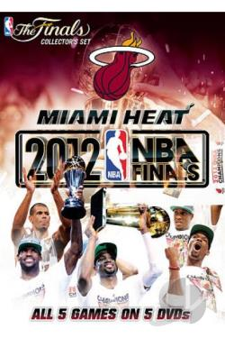 Miami Heat: 2012 NBA Finals Series DVD Cover Art