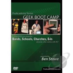 ProAcademy Series: Geek Boot Camp DVD Cover Art