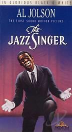 Jazz Singer VHS Cover Art