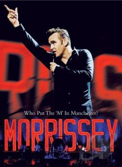 Morrissey - Who Put The 'M' In Manchester? DVD Cover Art