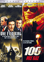 One Eyed King/ 100 Mile Rule - Double Feature DVD Cover Art