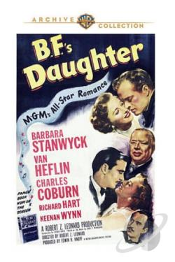 B.F.'s Daughter DVD Cover Art