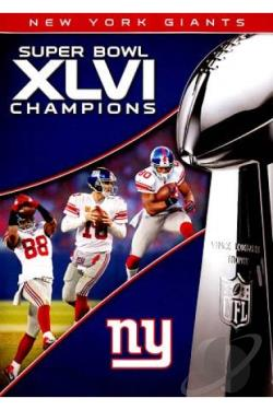 NFL: Super Bowl XLVI - 2011 New York Giants vs New England Patriots DVD Cover Art