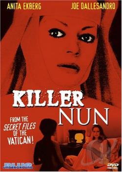 Killer Nun DVD Cover Art