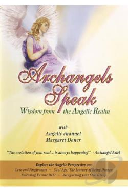 Archangels Speak: Wisdom from the Angelic Realm DVD Cover Art