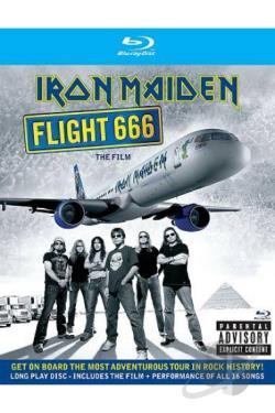 Iron Maiden - Flight 666: The Film BRAY Cover Art