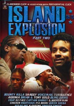 Island Explosion 2007 - Part 2 DVD Cover Art