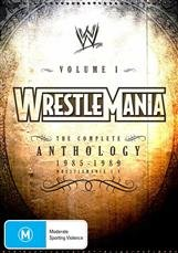 WWE Vol. 1 - Wrestlemania Anthology DVD Cover Art